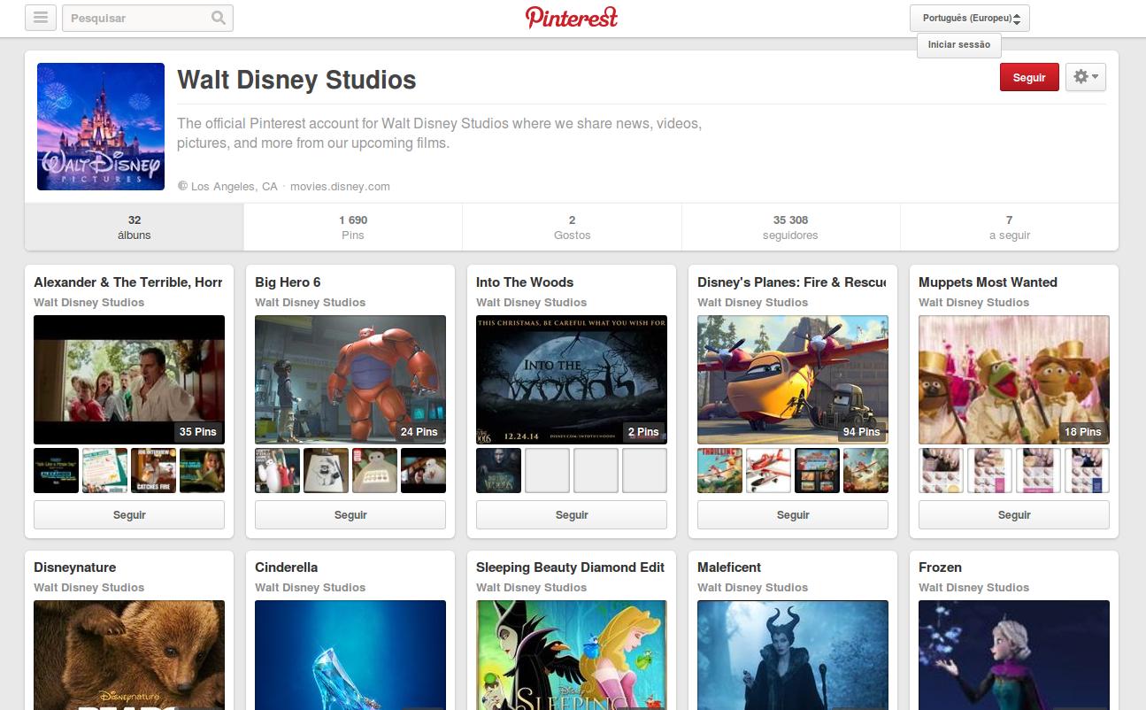 Pinterest Walt Disney