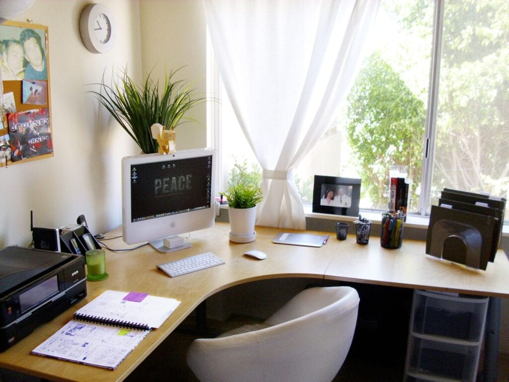 Home office para mim for How to design a small home office
