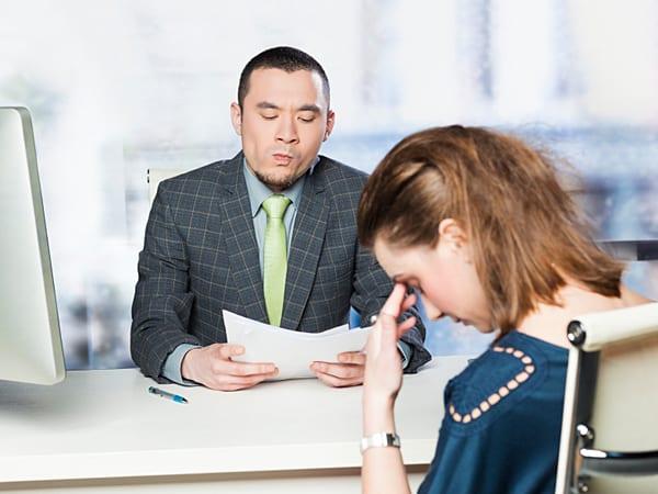 erros entrevista emprego