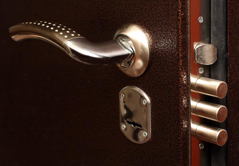 porta blindada