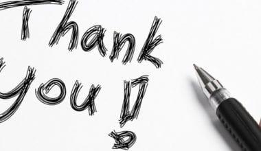 carta de agradecimento ao cliente