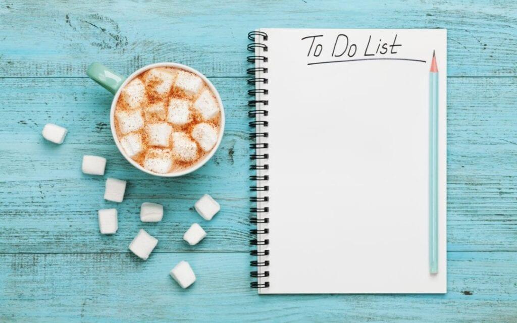 como fazer to do list